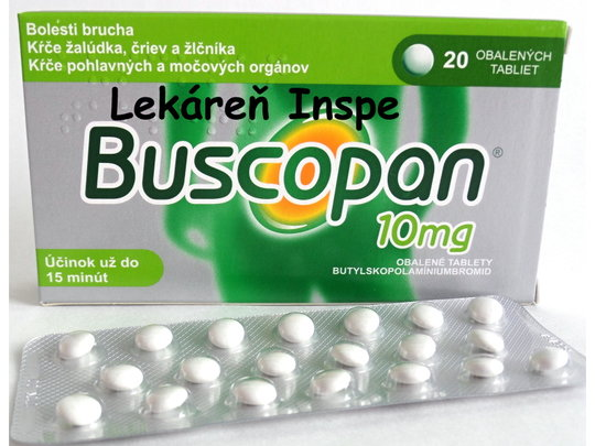 Buscopan 10 mg  20 tbl.