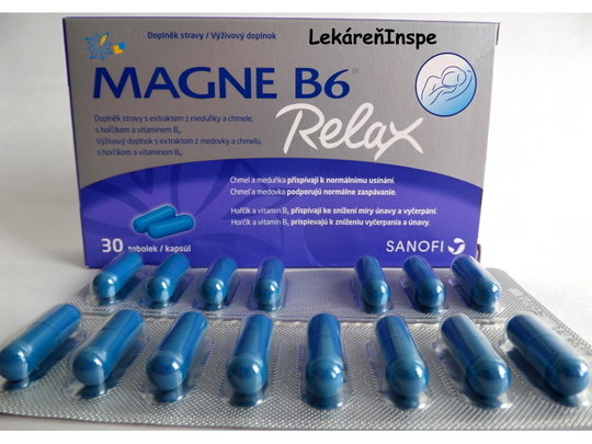 Magne B6 Relax 30 cps.