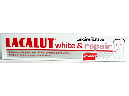 Lacalut white & repair zubná pasta  75 ml